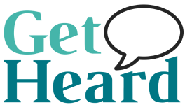 Get Heard copywriting logo